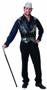 All That Jazz Silver Adult Ves Costume