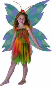 Amber Woodland Fairy 4 6 Costume