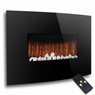 BIG Electric Fireplace Heater Ambiance Wall-Mounted w/Remote