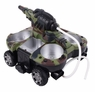 Amphibious RC (Remote Control) Tank 1/10 Scale Works On Land, Ice, & Water Too! *HOT*