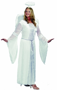 Angel White Plus Size Costume