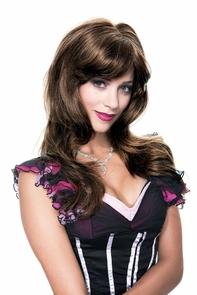 Angelina Wig Brown French Kiss Costume