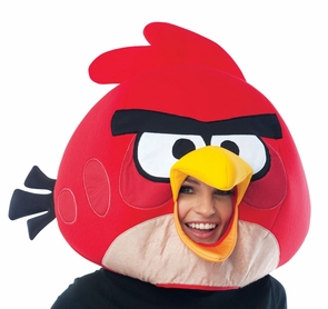 Angry Birds Red Mask Adult Costume