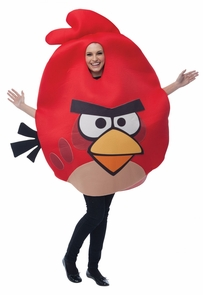 Angry Birds Red One Size Adult Costume