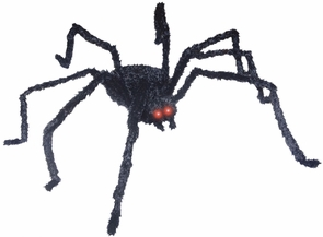 Animated Black Spider 49 Inch Costume