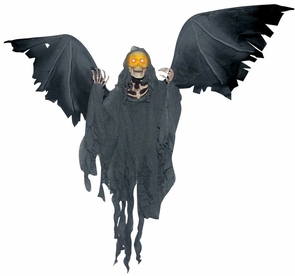 Animated Flying Reaper Costume
