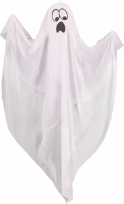 Animated Ghost Light Up Face Costume