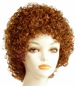 Annie Carrot Top Wig Costume