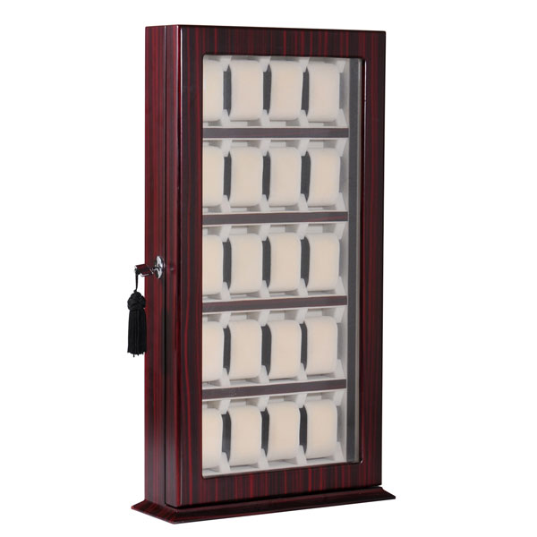 sc 1 st  Trend Times & Antique Style Wooden 20 Watch Display Cabinet Storage Box