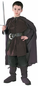 Boy's Aragorn Costume - Lord Of The Rings Costume