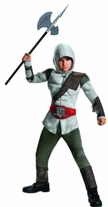Assassin Muscle Child 7-8 Costume