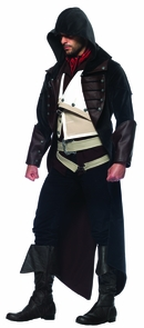 Assassins Creed Arno 7pc Med L Costume