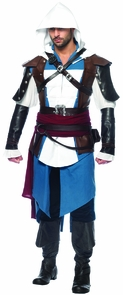 Assassins Creed Edward 9pc Sd Costume