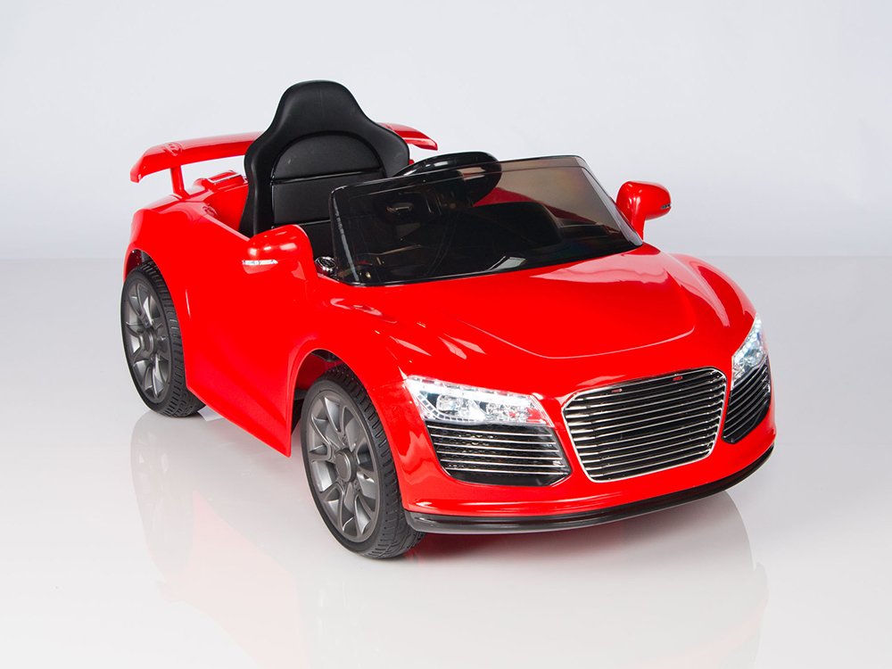 magic cars audi r8 roadster style electric rc ride on car 12 volt for kids wremote control