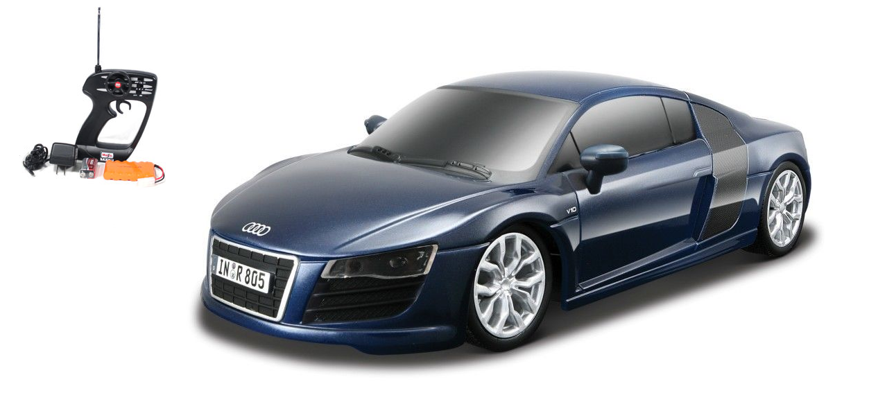 Audi R8 Rc Electric Remote Control Car W Chrome Wheels