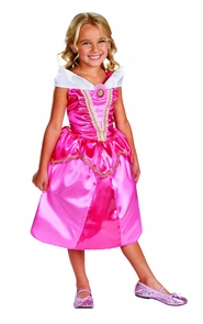 Girl's Aurora Sparkle Classic Costume - Sleeping Beauty Costume