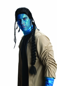 Avatar Jake Sully Adult Wig Costume