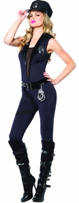 Back Up Officer Adult Small Costume