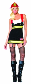 Backdraft Babe Small Costume
