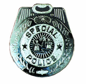 Badge Police Jumbo Costume
