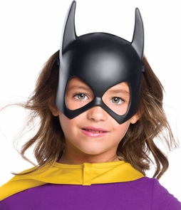 Child's Batgirl Plastic Mask Costume