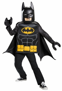 Batman Lego Classic Child 4-6 Costume