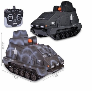 Battle Pack Electric RC Tank Working Cannon Black Ops Truck - 4 People Can Play