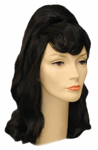 Beehive Pageboy Wig Costume