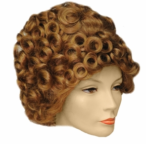 Teased-up Beehive Wig Costume