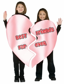 Best Friends Forever Heart Ch. Costume
