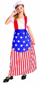 Betsy Ross Child Md 8-10 Costume
