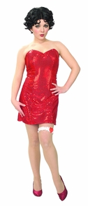 Betty Boop Teen X Small Costume