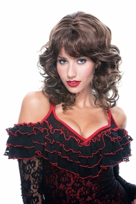 Bianca Wig Brown W/highlights Costume