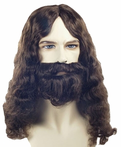 Biblical Wig Spec Bargain Blac Costume
