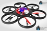 Easy To Fly Big 6 Blade Drone Remote Control Quadcopter RC W/Lights
