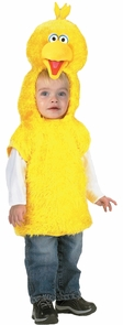 Big Bird Vest 3t 4t Costume