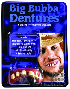 Big Bubba Bubba Teeth Costume