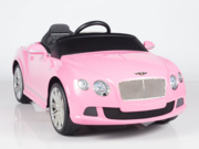 Magic Cars� Big Pink Bentley 12 Volt Ride On Remote Controlled Convertible RC Car