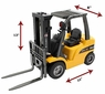 Big RC (Remote Control) Forklift Measures Almost 2 Feet Long