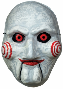 Billy Puppet Vacuform Mask Costume
