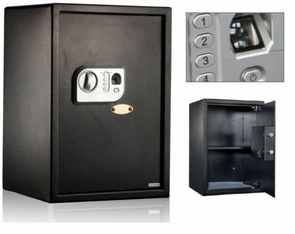 Biometric Fingerprint Electronic Security Safe 13x15x18 inch
