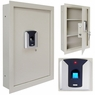Biometric Fingerprint Electronic Security Wall Safe 16x4x22 inch