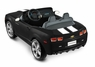 Black Camaro Ride On Car Power Wheels Style For Two Children