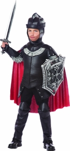 Black Knight Child Lg 10-12 Costume