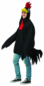 Black Rooster Costume
