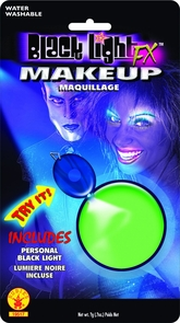 Blacklight Glow Makeup Costume