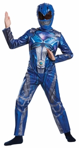 Boy's Blue Ranger Classic Costume - Power Rangers Movie 2017 Costume