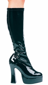Boot Chacha Black Size 9 Costume