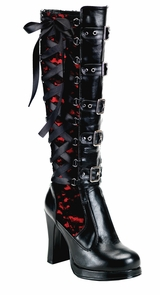 Boot Crypto Buckle Bk Size 10 Costume