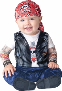Born To Be Wild Toddler 6-12 Costume
